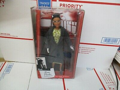 New Rosa Parks Barbie Signature Inspiring Women Series (Has Light Damaged Box)