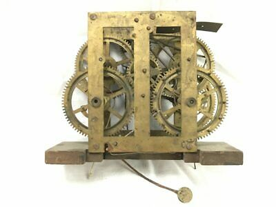 Early Ca. 1842-45 Weight Driven Seth Thomas Clock Movement for Parts | 22845