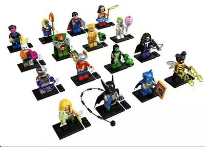 LEGO Minifigures 71026 DC Super Heroes Series (Set of 16) - Not Sealed