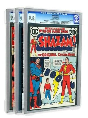 3PACK SLAB PRO CLEAR CGC PGX CBCS Graded Case Protector THOR Comic Books