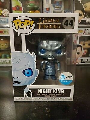 Funko Pop! Game of Thrones Metallic Night King #44 AT&T Exclusive WITH PROTECTOR
