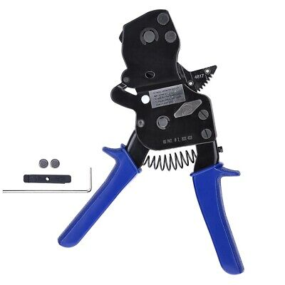 "PEXOne Hand Cinch Clamp Tool Ratchet Pinch Crimper Wrench 3/8""-1"" Pinch Clamp US"
