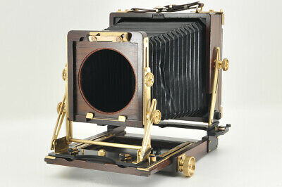 *Excellent* Wista Field 45DX Ebony 4x5 Large Format Film Camera from Japan #3916