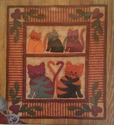 Cat Tails Wall Hanging pattern Quilt pattern by Rachel's of Greenfield