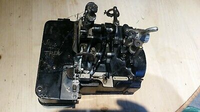 Vintage / Antique Willcox and Gibbs 3 Thread Overlocking Machine - Used