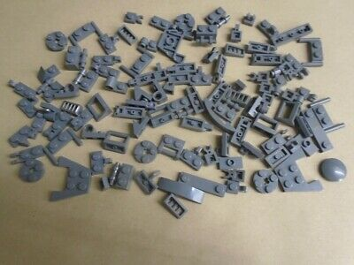 LEGO A mixture of 100 small parts - those shown - dark bluish grey