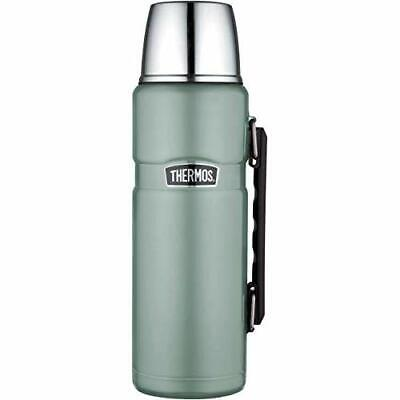 [vej] Thermos Stainless King Fiaschetta, Acciaio Inossidabile, Duck Egg, 1,2 l