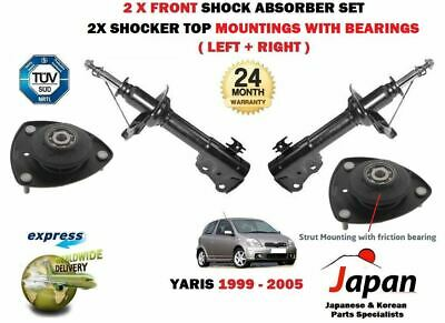 RIGHT SHOCK ABSORBER SHOCKER SET FOR TOYOTA YARIS VITZ 1999-2005 2x REAR LEFT