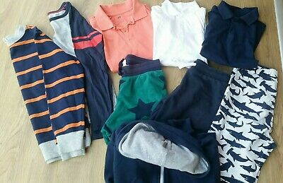 Boys H&M 9 Piece Casual Wear Bundle Age 8 Mainly Navy