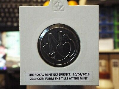 2019 A-Z ALPHABET 10p - LETTER N - NHS From the Royal Mint Experience Till.