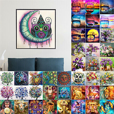 Full 5D Diamond Painting Diamant Stickerei Malerei Bilder DIY Stickbild Wohndeko