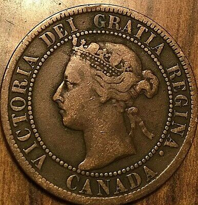 1894 Canada Large Cent Large 1 Cent Coin Penny