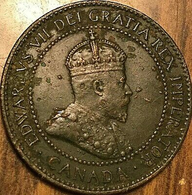 1903 Canada Large Cent Large 1 Cent Coin Penny