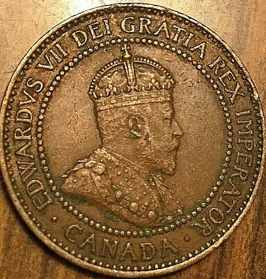1909 Canada Large Cent Large 1 Cent Coin Penny