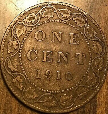 1910 Canada Large Cent Large 1 Cent Coin Penny