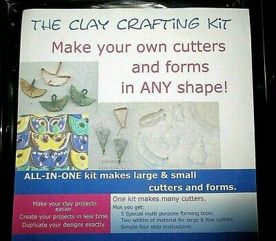 """""""Make Your Own Cookie / Clay Cutter / Form  Kit= Tools & Material"""