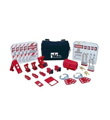 Ideal 44-971 Standard Lockout/Tagout Kit NEW