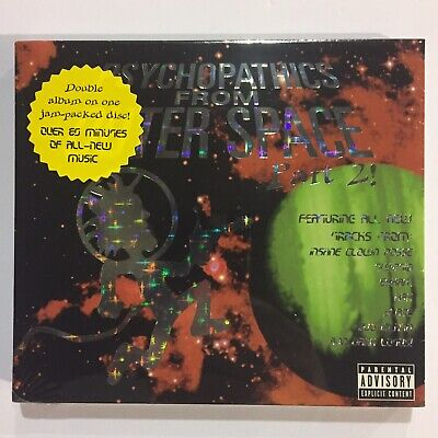 Insane Clown Posse Psychopathics From Outer Space 2 ICP CD New
