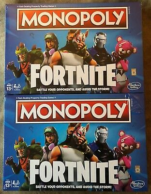 Monopoly Fortnite Edition Board Game  - 2 NEW Sets