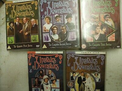 Upstairs Downstairs - The Complete Series Season 1 2 3 4 & 5 DVD Boxset 21 Discs