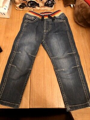 Frugi Cody Comfy Light Wash Denim Jeans 2-3 EUC