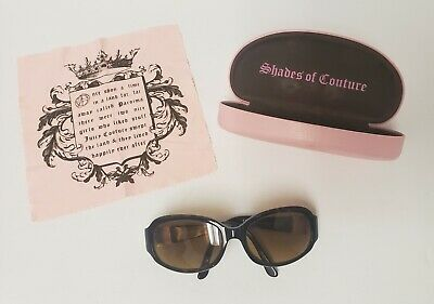 JUICY COUTURE ROYALTY MARY JANE/S 086 DESIGNER Eyeglasses Cloth Pink Case