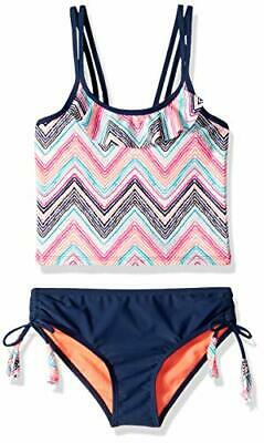 JUSTICE GIRLS 1-PIECE ANIMAL PRINT Swimsuit OR ZIG ZAG MSRP$39.90 NEW WITH TAGS