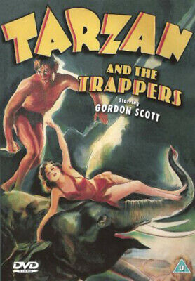 Tarzan and the Trappers DVD cert U Value Guaranteed from eBay's biggest seller!