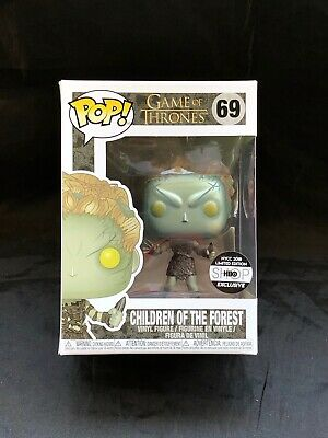Funko POP! Game of Thrones Metallic Children of the Forest NYCC 2018 HBO