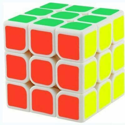 Kids Rubiks Cube 3X3 Fun Original Toy Rubic Magic Mind Game Classic Rubix Puzzle