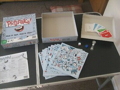 Pictureka Board Game by Parker Age 6 up and 2 + Players