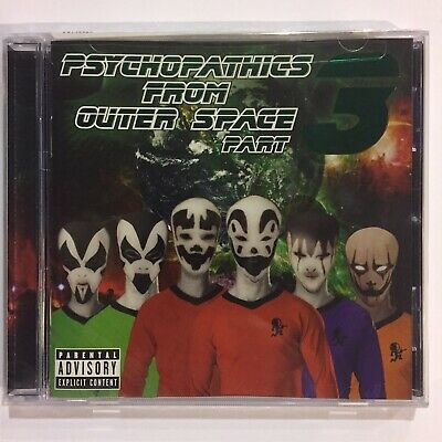 Insane Clown Posse ICP Psychopathics From Outer Space 3 CD New