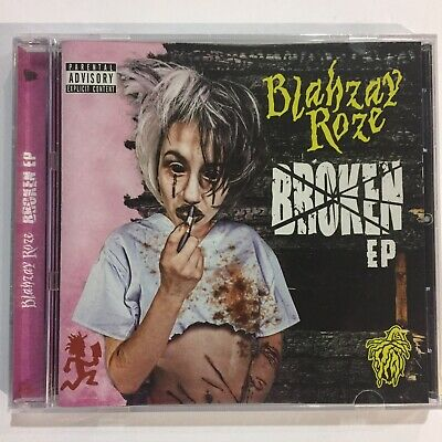 Blahzay Roze Broken Cd New Insane Clown Posse ICP