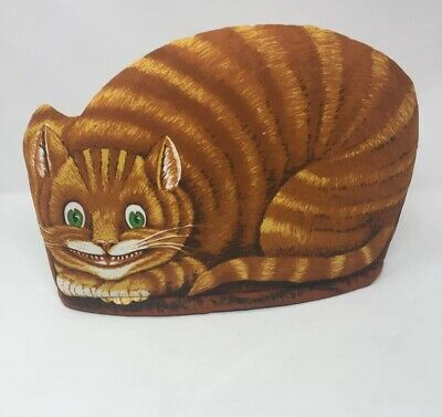 Ginger Grinning Cheshire Cat Tea Cosy by Kitchen Co-Ordinates Alices Shop Oxford