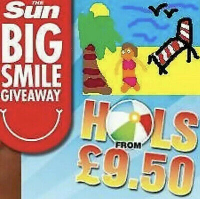 The Sun Holidays ✅  £9.50 ✅ ALL 10 Code Words  £99p