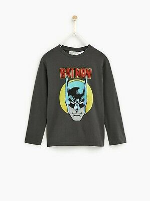 BNWT Zara Kids Soft Stretch Cotton Classic Batman Top Age 13-14 years RRP £11