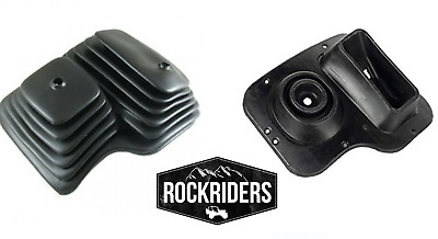 Replacement Manual Inner & Outer Floot Shifter Boot for 87-95 Jeep Wrangler YJ