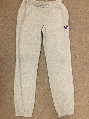 Girls LA gear Joggers Tracksuit Bottoms Age 13