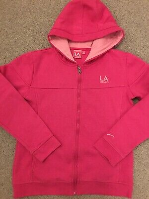 Girls LA gear Hoodie Tracksuit Top Age 11-12
