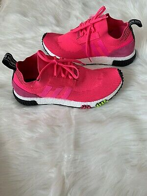 BRAND NEW IN BOX MENS NMD/_RACER PK PRIME KNIT BOOST CQ2442  SOLAR PINK