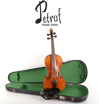 Old/Vintage Rare 4/4 Labeled Violin NICOLAS LUPOT+New Strings&Case~Youtube Video