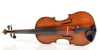 VERY GOOD FULL SIZE 4/4 VIOLIN+NEW STRINGS~SEE VIDEO~fiddle 小提 Cкрипка小提琴 ヴァイオリン