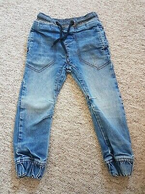 Next Boys Age 4 Years Blue Denim Jeans