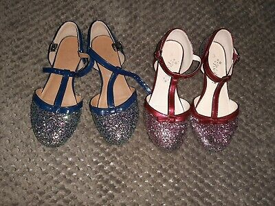 2 pairs of Girls Next Party Shoes Size 3
