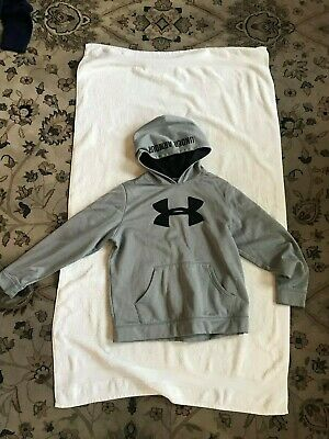 UNDER ARMOUR Storm Logo HOODIE Sweatshirt Youth  S M or L Black Red Blue Grey UA