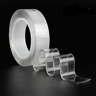 Double Sided Tape Magic Nano Self-Adhesive Reusable Glue Sticker Transparent