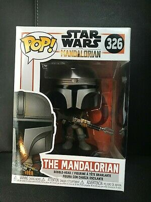 Funko Pop Star Wars THE MANDALORIAN! Brand New In Hand! HOT!! #326 MIMB!