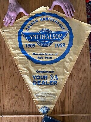 Vintage Top Flite Kite Paper 60's-70's?New .old stock spacemaster