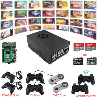 Raspberry Pi 4 B Game Kit G4B01 Retro Game Console Fully Loaded Plug-n-Play