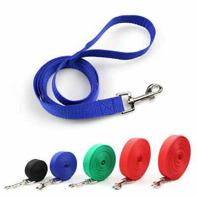 3/5/10/20M Extra Long Dog Training Lead Strong Leash Large Recall Line Walking ☆